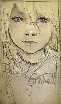 Child.Quick Sketch and photoshop