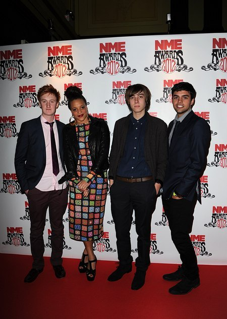 bewarethemoon:  Skins cast, NME Awards 2012.  They all looked awesome!  Love what Alex is wearing.
