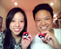 We made Pokeballs… and wasted an hour of time lol.