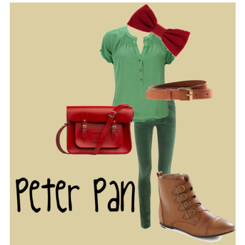 Peter pan by jessb93 featuring fake leather boots