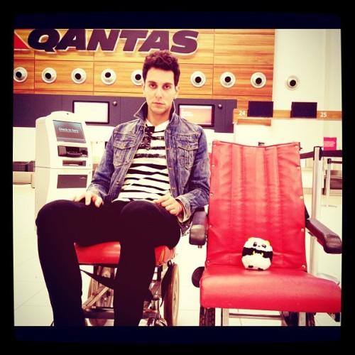 Gabe Saporta and Baby Panda!!! \o/