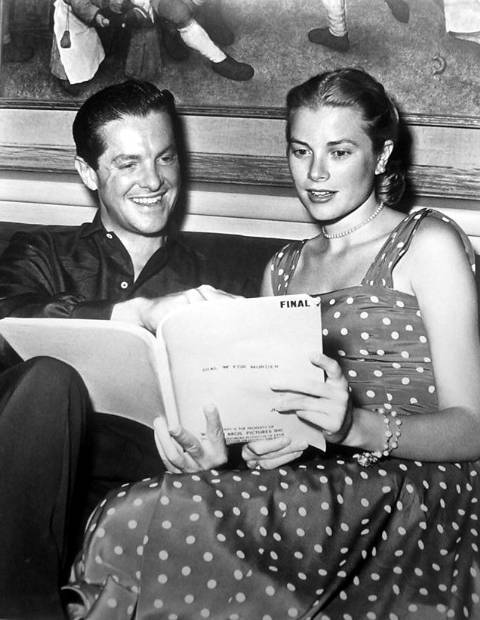 Grace Kelly reads.