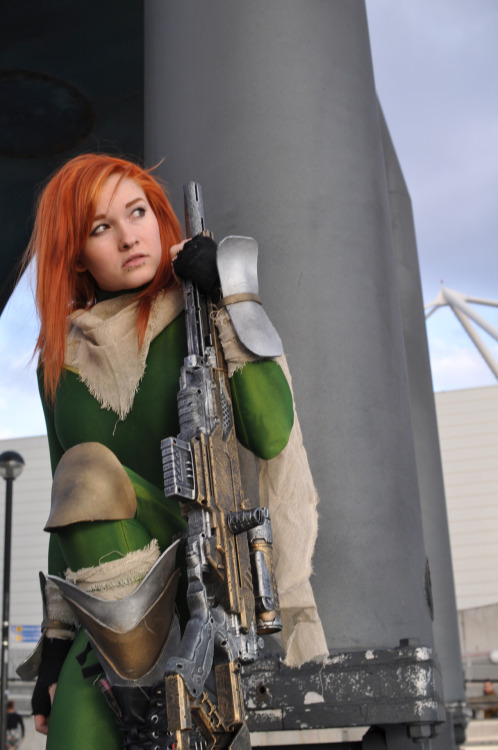 Character: Hope Summers from X-men Costume by Chelsea Photo taken by Anna at London Super Comic Con Submitted by: monkeycroft