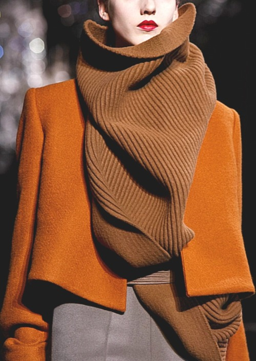 threefolds:  Haider Ackermann | detail | fall 2012