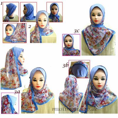 How to wear Mona Hijabs.