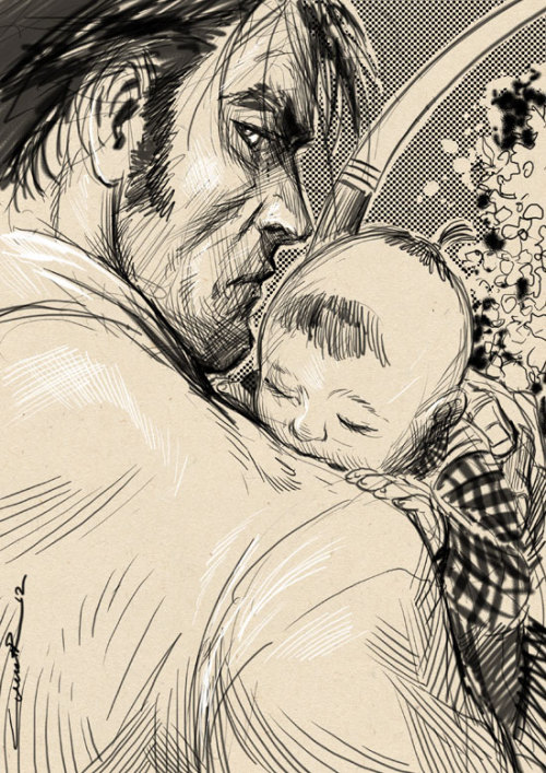 Lone Wolf and Cub by Yildiray Cinar