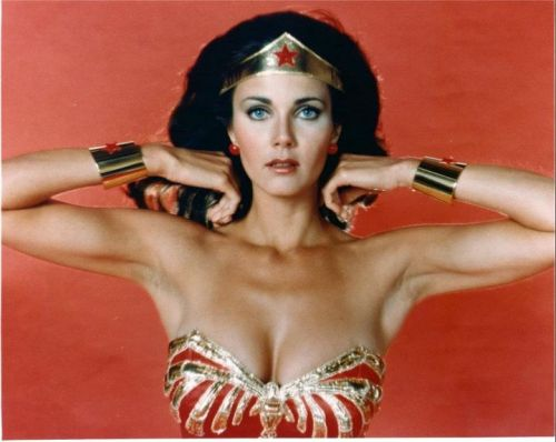 Actors Lynda Carter is Wonder Woman
