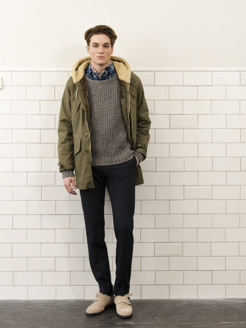 "thebengalstripe:   Gant Rugger Fall/Winter 2012 ""Unkempt Sprezzatura"""