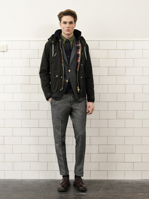 "Gant Rugger Fall/Winter 2012 ""Unkempt Sprezzatura"""