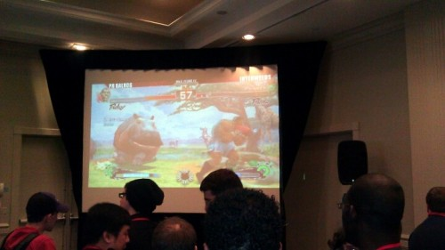 PR Balrog killing some dude. (Photo by joshmutiny)