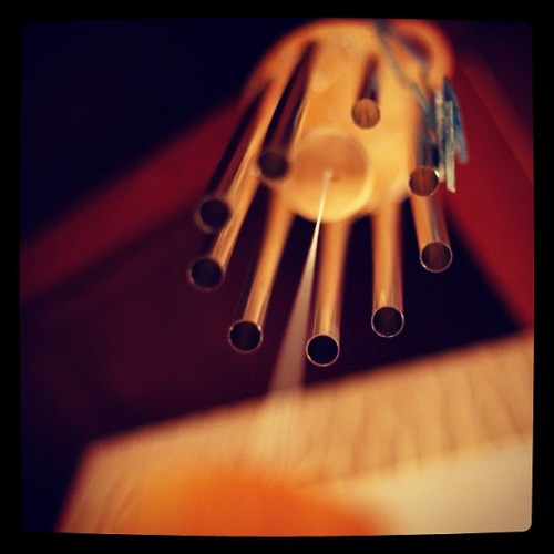#windchimes #dof #perspective (Taken with Instagram at Pondicherry)