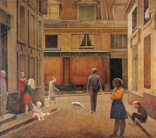 Balthus - Le Passage du Commerce Saint-André (1954)