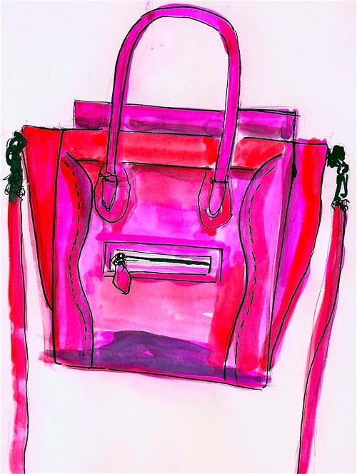 celine bags online - Ami Schaheera: REVIEW: Celine Micro Luggage Tote