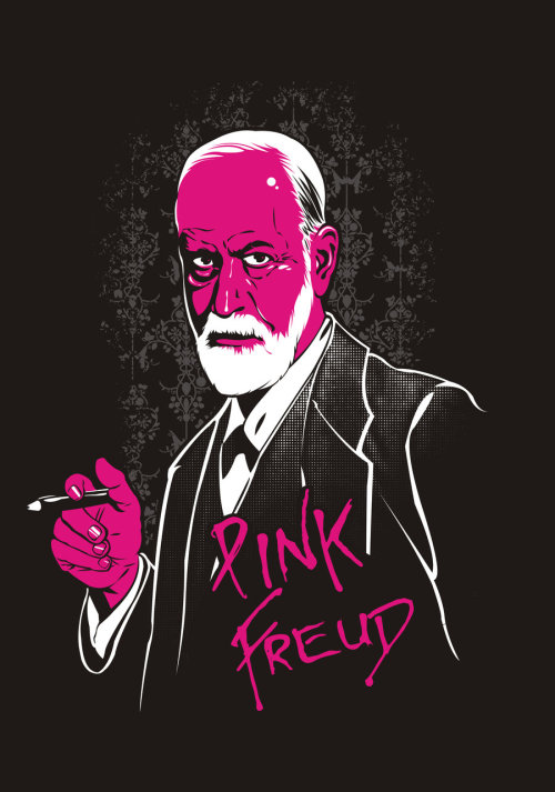 Pink Freud by Edno Pereira Jr