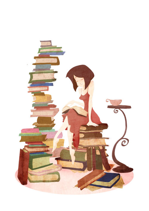 yasminacreates:  Commission: Bookend by ~e1n