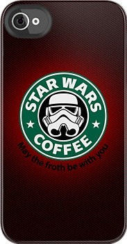 Star Wars Coffee iPhone 4/4S Case