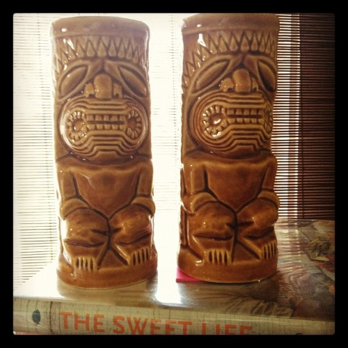 Tiki mugs impulse buy for $1 (Taken with instagram)