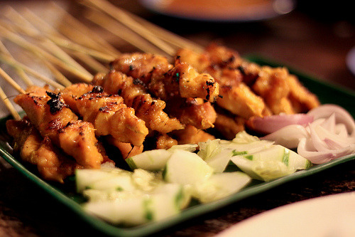 dopefood:  Satay (by Raymond Saw)