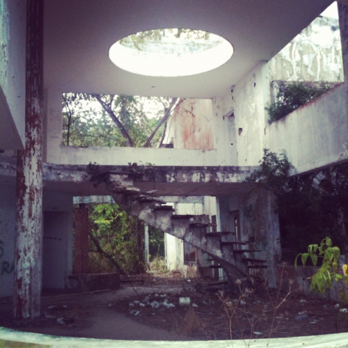 Noriega's abandoned mansion. (ex-dictator not the rapper) adr. Instagram steez.