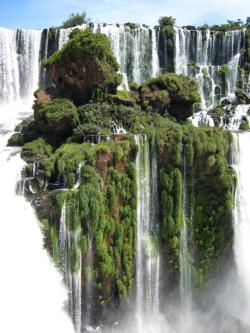 the-crown-of-love:  Waterfall Island, Alto Parana, Paraguay.  wow o.O