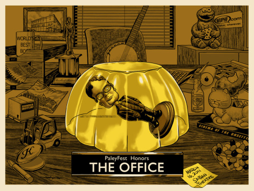laughingsquid:  PaleyFest2012 Honors The Office by Jason Edmiston