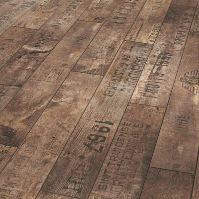 grandvisions:  Vintage wine crate flooring.  Great repurposing.