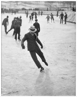 Ice Skating.Photo by John Albok (1937). Found here.