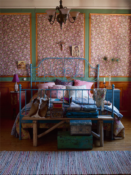 bohemian folklore for the bedroom