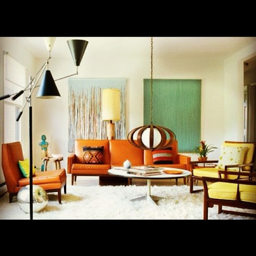 The Spot #mcm #midcenturymodern #eames #retro #mod #vintage #1960s #design #la Instagram #iphoneography (Taken with Instagram at West Los Angeles)