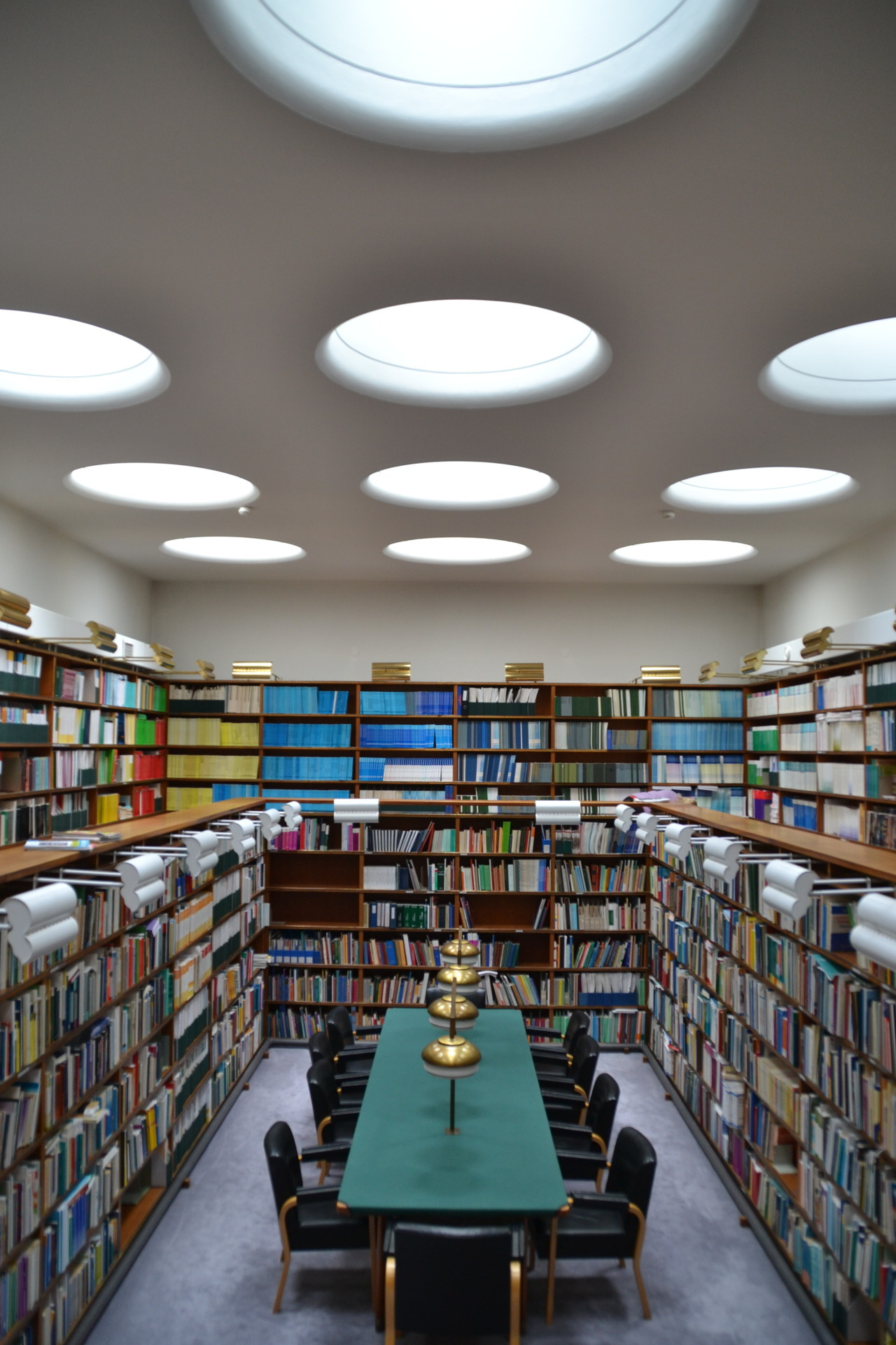 The Library. National Pensions Institute by Alvar Aalto Helsinki, Finland Summer 2011