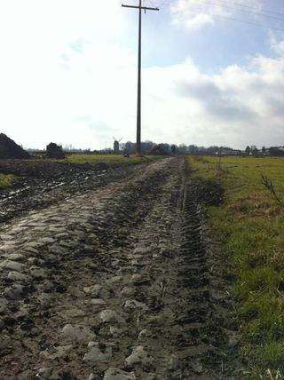 Dear God. cobbleshock:  The state of the cobbles