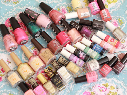 My Huge Nail Polish Sale! Check out my blog! :)