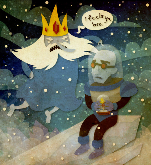 all-about-villains:  An Ice Guy Never Gets the Girl - by Sleepwalks