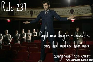 Rule 237: Right now they're vulnerable, and that makes them more dangerous than ever.  SUBMISSION!!!  [Image Credit]