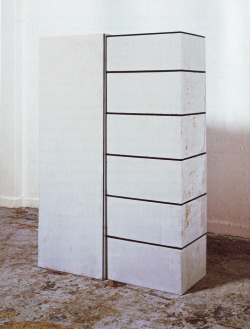 Untitled (Wardrobe), 1994 by Rachel Whiteread.