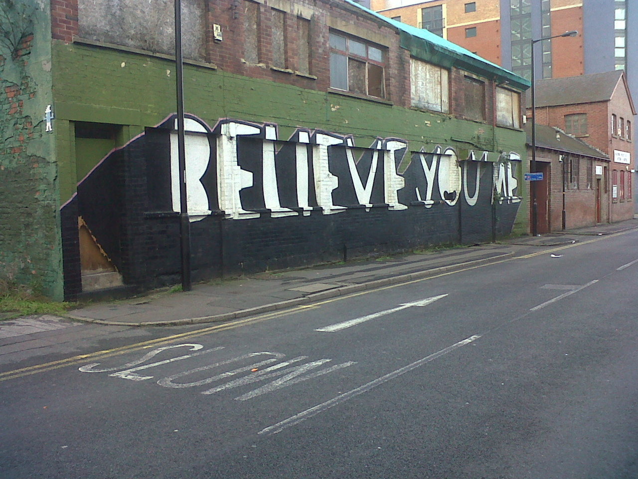 More Sheffield street art