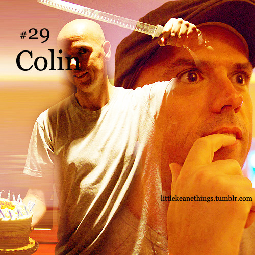 #29 Colin suggestion by Anon