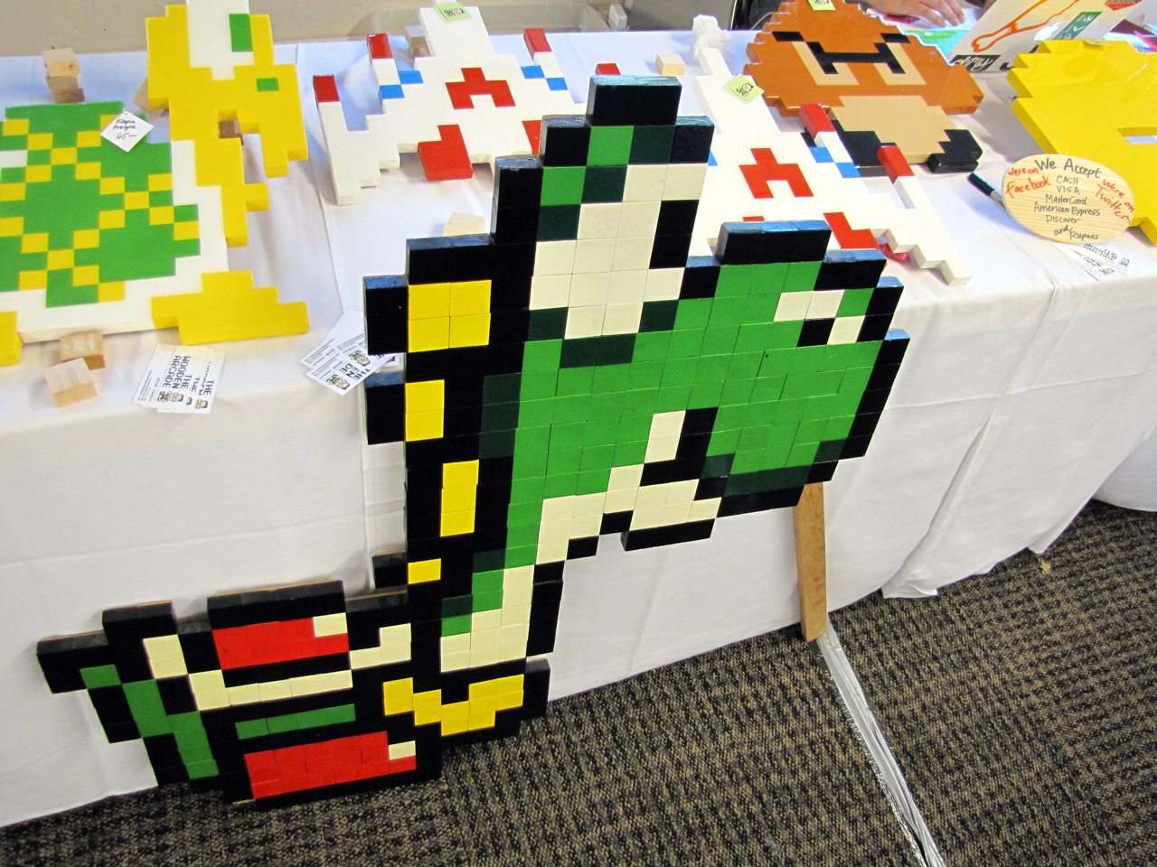 The Wooden Arcade at the 2011 Portland Retro Gaming Expo Follow Us! Tumblr || Website || Facebook || Twitter || Store