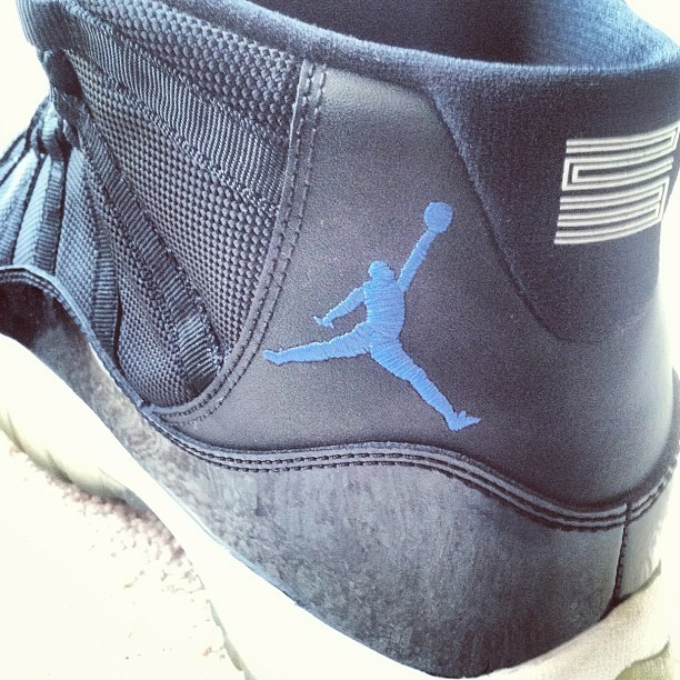 Jordan 11 spacejams (Taken with instagram)