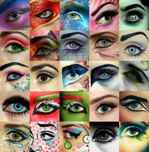 Eye Makeup So Far by ~LaurenGibson