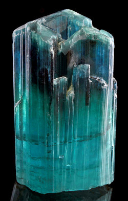 mineralia:  Tourmaline from Afghanistan by Exceptional Minerals