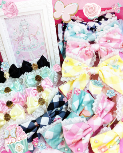 angelicpretty-usa:  Sugar Fairy Cake accessories