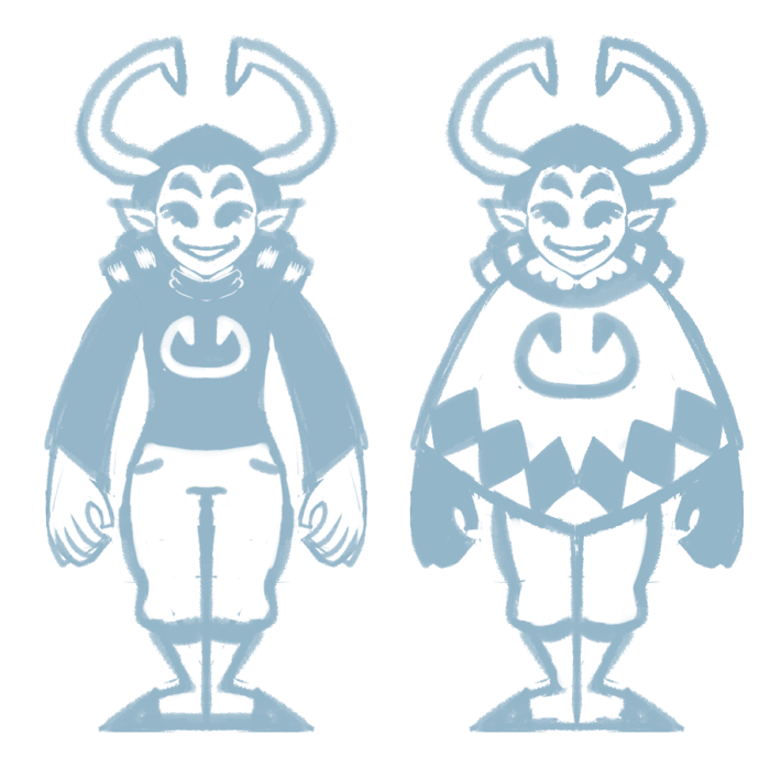 ok i'll stop drawing my fantroll so much I just wanted to make a clothing/fullbody/symbol ref  also I love over-stylizing things