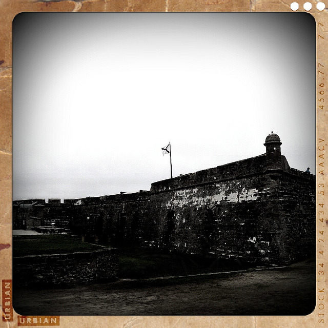 Castillo De San Marcos on Flickr.Castle