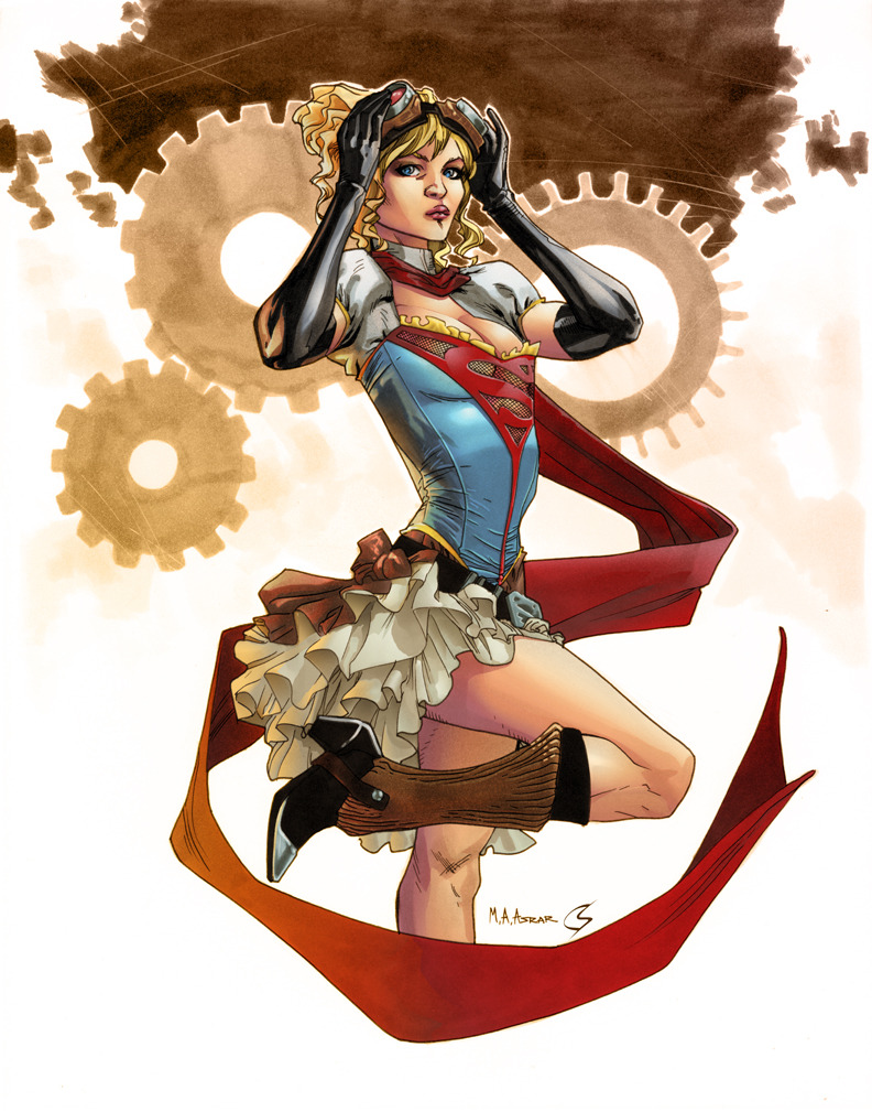 Steampunk Supergirl