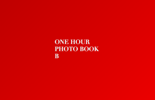 One Hour Photo Book B is available on MagCloud. 44-page landscape digest, 20 photographs. $15 hard copy with free digital edition or $10 for digital alone.