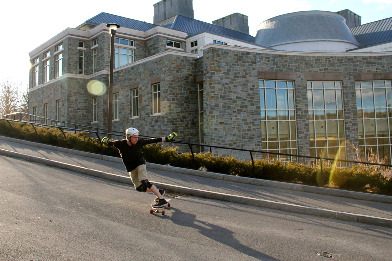 Steep Toeside Check. Rider: Mike Girard. Photo: Nick Burkus on my Canon 60D. ISO 800, 18mm, f/7.1, 1/800. -MG