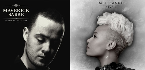 Only 2 albums I have been listening to all week!  Maverick Sabre and Emeli Sande!