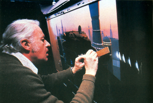 pacalin:  RIP Ralph McQuarrie Ralph McQuarrie, concept designer for the original Star Wars Trilogy has passed away today at his home at the age of 82. Sad news. He shaped our childhood, that's for certain.