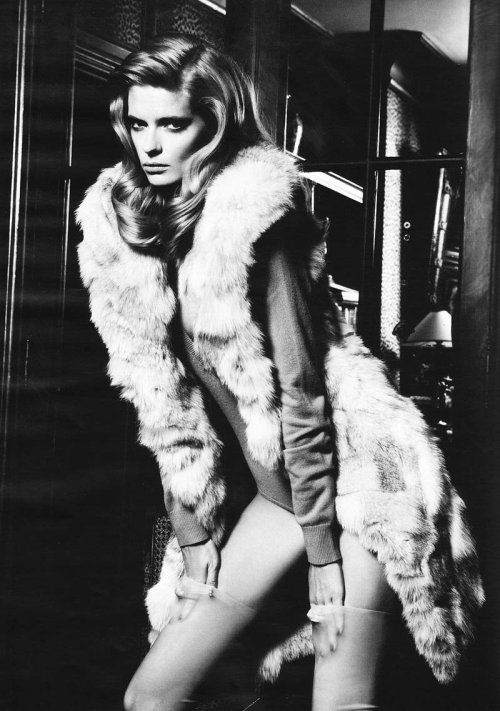 (via Julia Stegner for Vogue Germany December 2010 by Knoepfel...